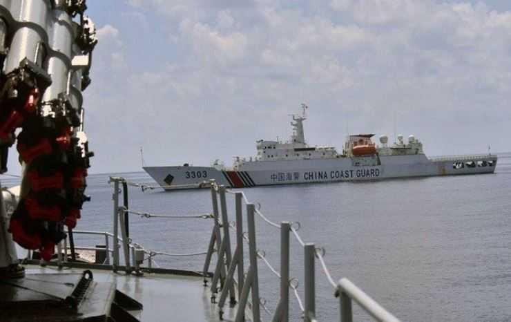 Kapal China di Natuna