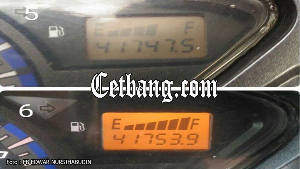 cara memperbaiki indikator bensin supra x 125 fi