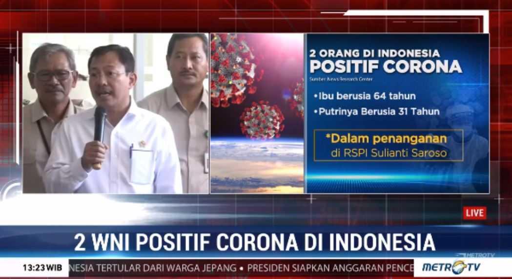 Menkes Terawan: Corona Tidak Seganas Flu Burung?