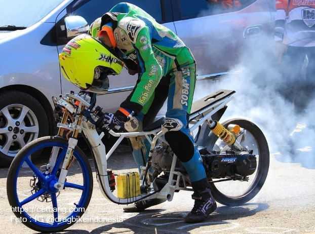 Modifikasi Dragrace Sepeda Motor Matic Terbaru