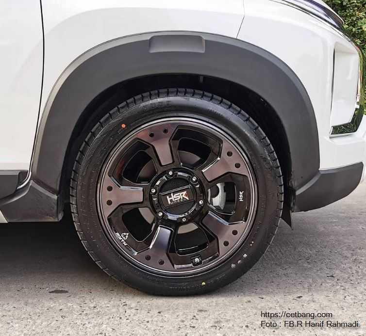 Modifikasi Mitsubishi Xpander Menggunakan Velg HSR Wheel