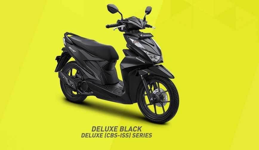 Deluxe Black untuk varian CBS-ISS