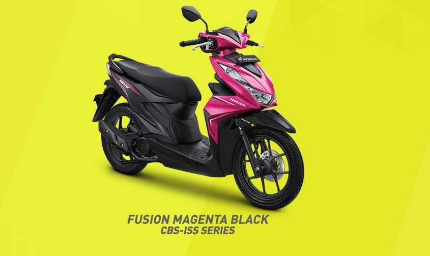Fusion Magenta Black untuk varian CBS-ISS