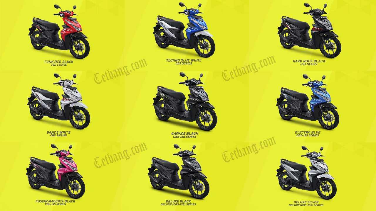 Gambar Motor Beat 2020