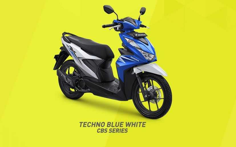Techno Blue White untuk varian CBS