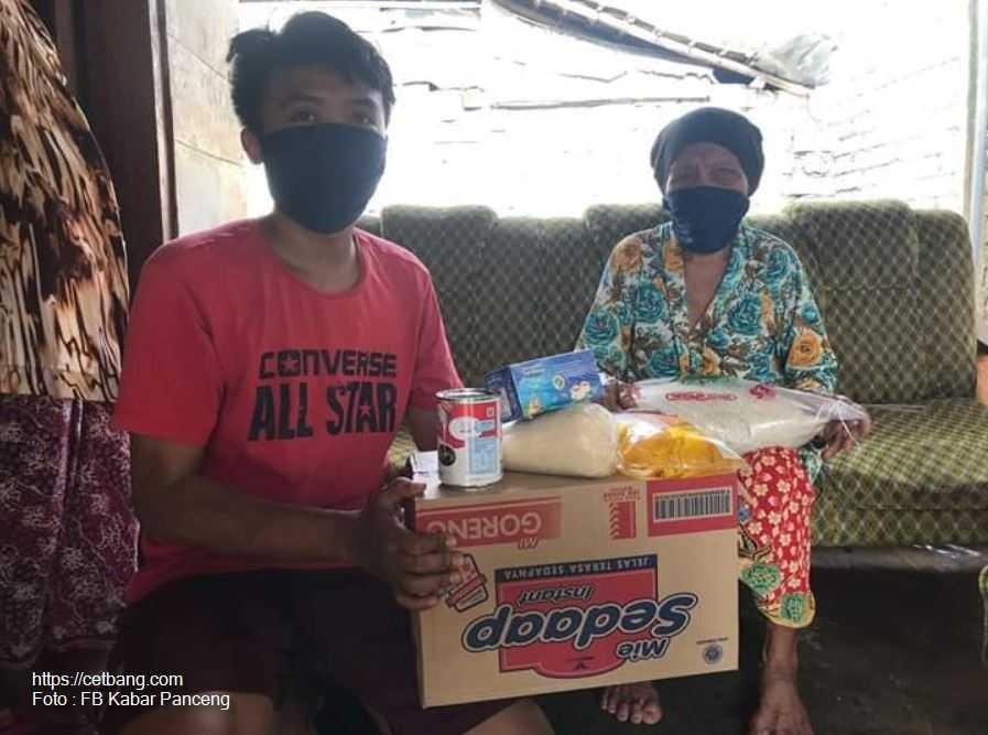 Kabar Panceng Menyiapkan Anggaran 50 Juta Untuk di Bagikan Kepada Dhuafa Berupa Sembako