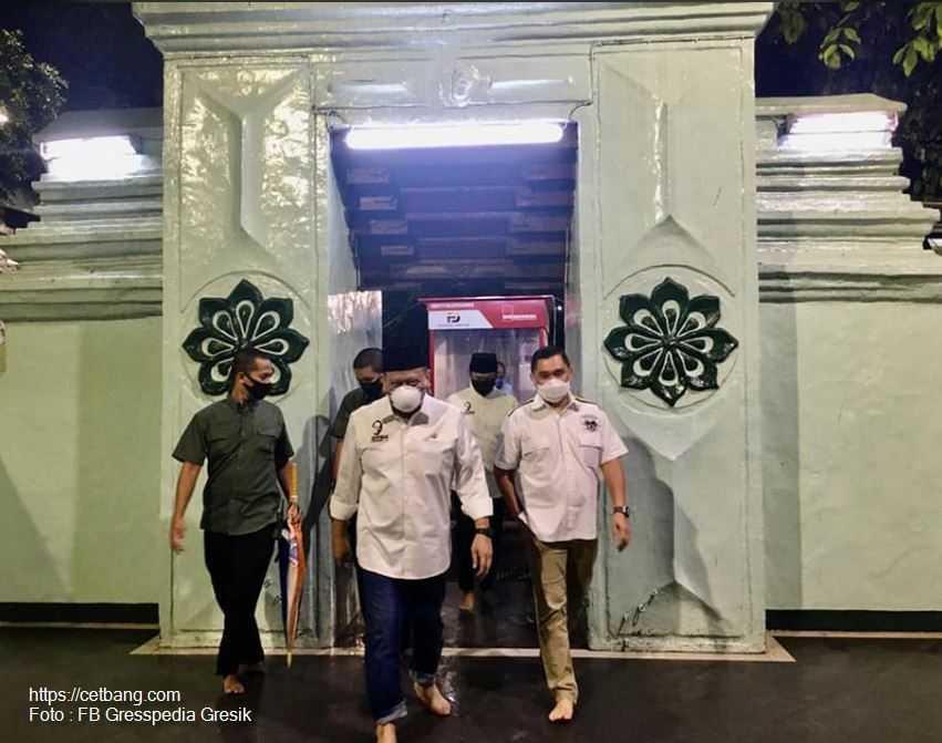 Ketua DPD RI Ajak Kapolda Jatim Irjen Fadil Ziarah ke Ampel