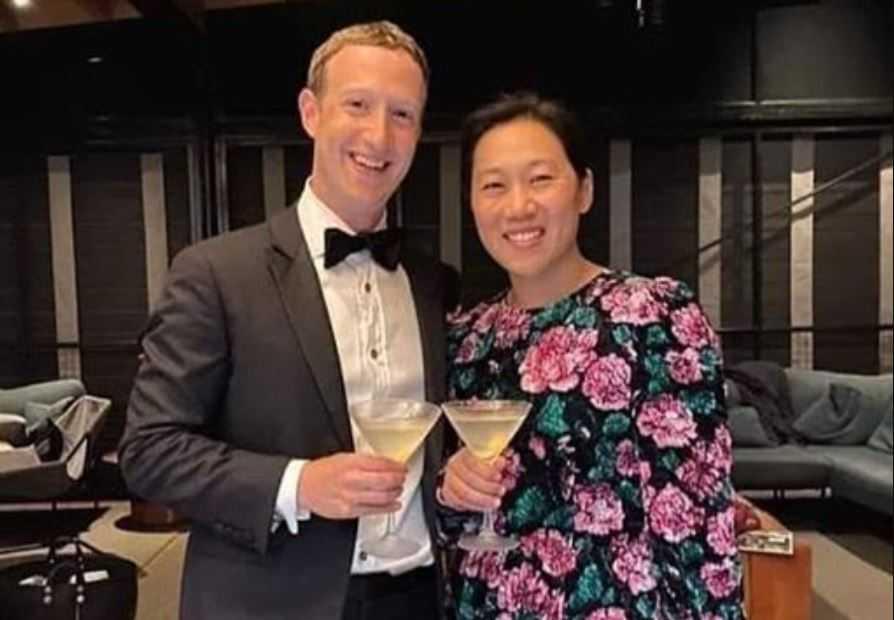 Mark Zuckerberg dan Priscilla Chan