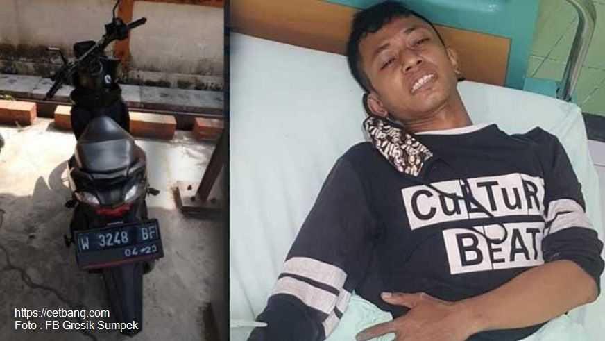 Polisi Tembak Maling Motor di Benjeng Saat PSBB Gresik Berlangsung