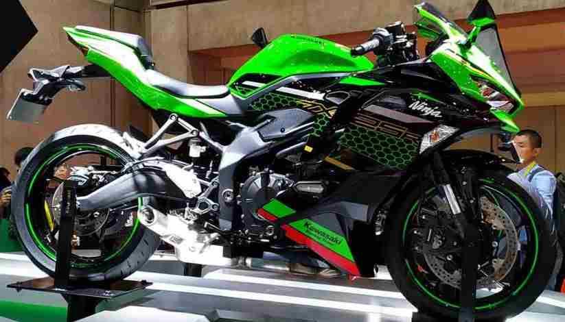 Harga Resmi Kawasaki Ninja 250 4 silinder Bocor ke Publik