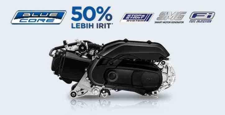 BLUE CORE ENGINE 125 CC Yamaha FREEGO S VERSION ABS