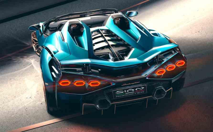 Design Lamborghini Sian Roadster