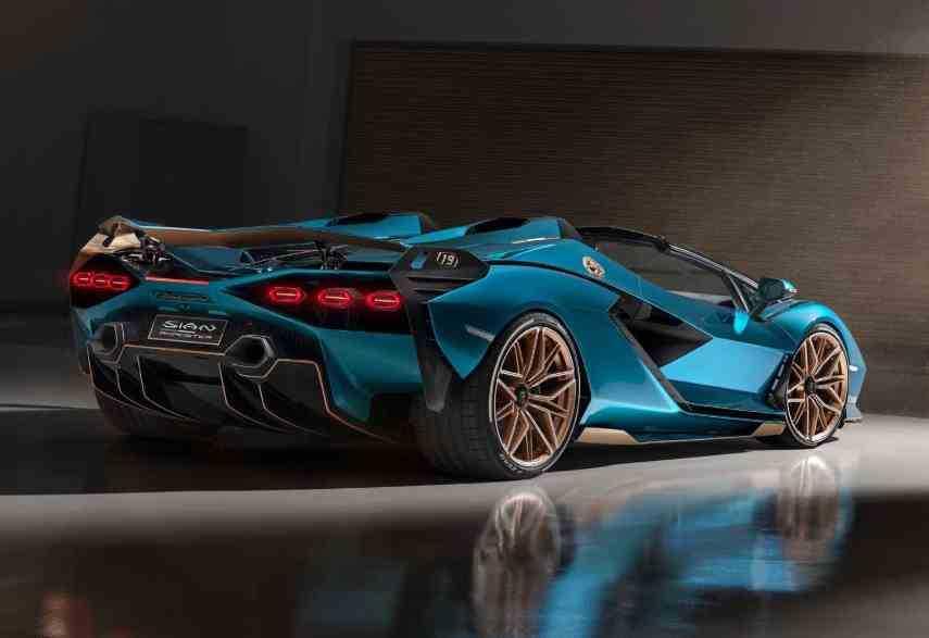 Harga Lamborghini Sian Roadster