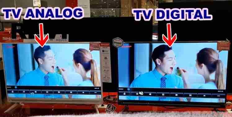 Keuntungan TV Analog Beralih ke TV Digital