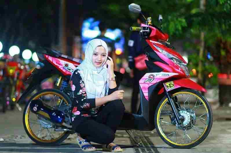 Ootd Hijab Honda Beat