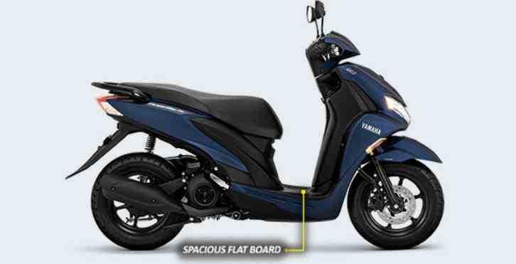 SPACIOUS FLAT BOARD Yamaha FREEGO S VERSION ABS