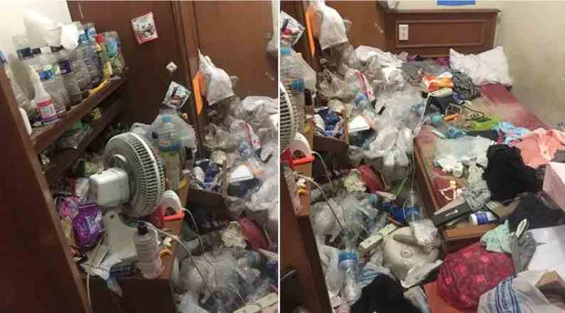 Viral Kamar Kos Cewek Penuh Sampah