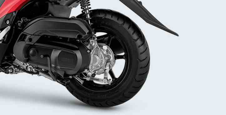 WIDE TUBELESS TIRE 12 INCH WHEEL Yamaha FREEGO S VERSION ABS