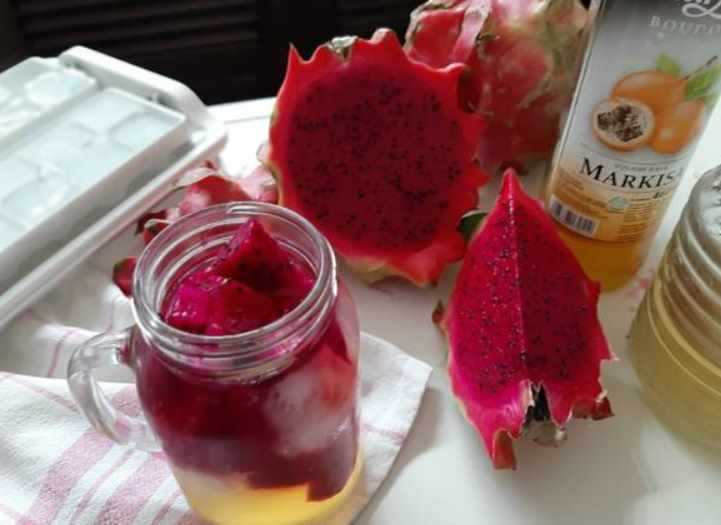 Dragon Fruit Mocktail