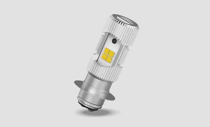 Lampu LED Pada Motor