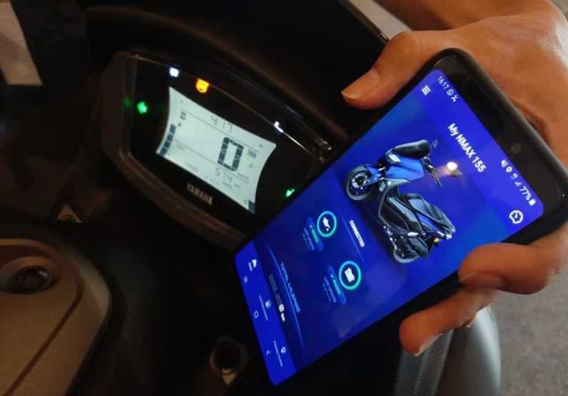 All new Yamaha NMax 155 Connected ABS Memiliki Fitur Communication Control Unit