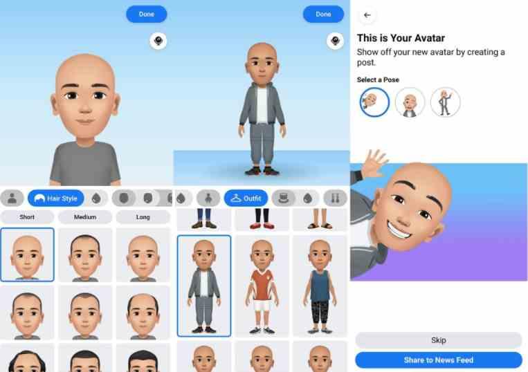 Cara Mudah Bikin Avatar di Facebook