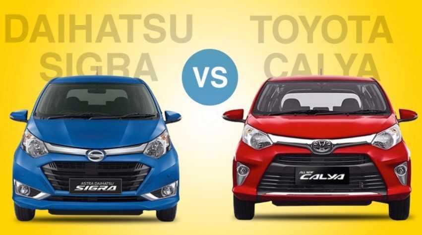 Berikut Perbedaan Toyota Calya dengan Daihatsu Sigra