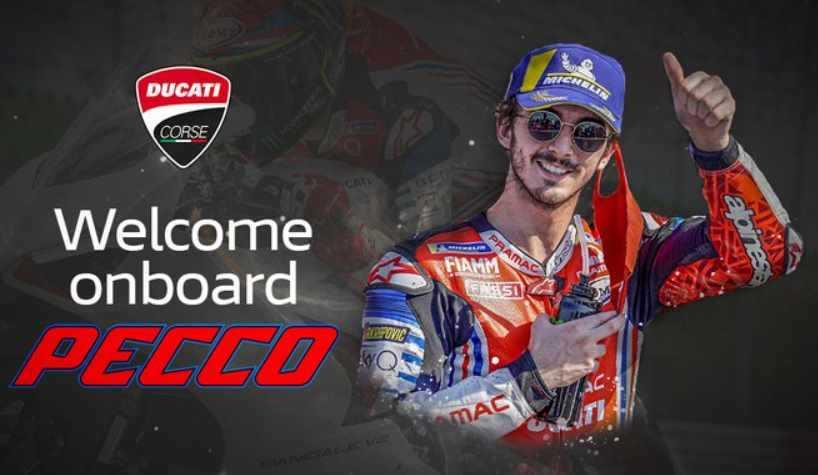 Francesco 'Pecco' Bagnaia Resmi Direkrut Ducati
