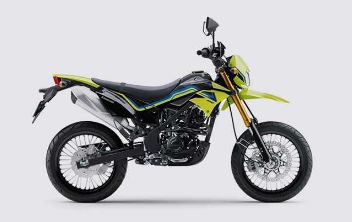 New Graphics New Colours Kawasaki Supermoto D-Tracker
