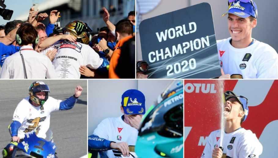 Juara MotoGP 2020, Joan Mir Dikabarkan Memakai Nomor Motor 1 di Musim Depan