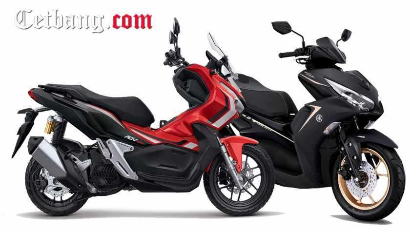 Perbandingan Aerox 155 Vs Honda ADV 150