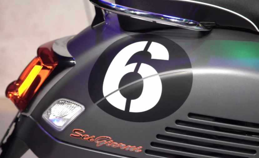 Spesifikasi Vespa GTV Sei Giorni II
