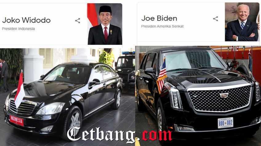 Joe Biden Vs Presiden Jokowi