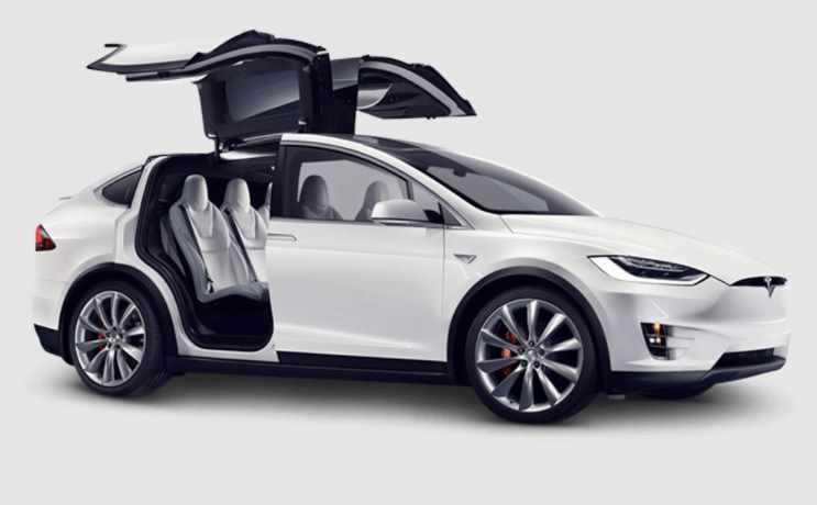 Gisel Beli Mobil Listrik Tesla Model X